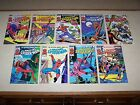 1985 THE OFFICIAL MARVEL INDEX TO THE AMAZING SPIDER-MAN #1-9 complete set VF-NM
