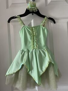 Revolution Tinkerbell Costume/Dress with Wings Size Kids SC