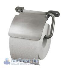 Haceka IXI Porte-Rouleau pour papier toilette avec couvercle inox