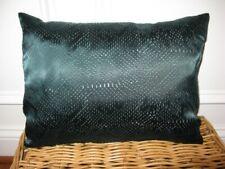 Calvin Klein JACARANDA Pierced Silk Green Decorative Throw Pillow NWT