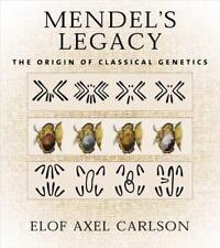 Mendel's Legacy : The Origin of Classical Genetics-ExLibrary