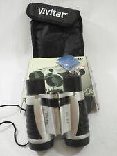 New Vivitar 4x30 Binoculars Set with Pouch & Strap