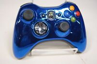 Microsoft Xbox 360 Wireless Controller Blue Chrome Limited Edition