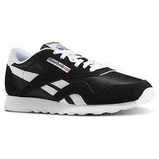5ca78350531 Men Reebok Lifestyle Classic Nylon 6604 Black White 100 Authentic 9