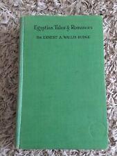 Egyptian Tales and Romances E. A. Wallis Budge