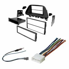 Car Radio Stereo Single AND Double DIN Dash Kit Bezel for 2005-10 Honda Odyssey