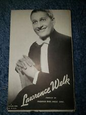 Lawrence Welk 1940's-50's Mutoscope Music Corp of America Postcard
