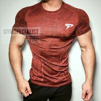 Men Gym T-Shirt Bodybuilding Skin Tight Thermal Compression Crossfit Workout Top
