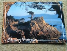 .POSTCARD.MONTEREY PENINSULA.POSTED 50c STAMP