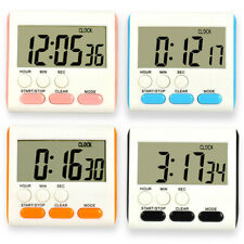 Large Digital LCD Kitchen Cook Timer Count-Down Up Clock Alarm Tool_ti