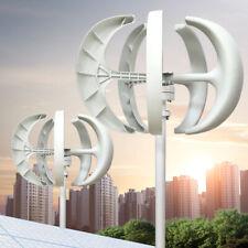 DC12/24V Lantern Wind Turbine Generator 5 Blades Vertical Axi With Controller 60