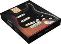 Genuine Fender Pre-Wired Strat Pickguard Custom Shop Fat 50's SSS Black