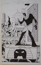 JIM STARLIN / AL MILGROM original art, THE END #1 pg 25, Infinity, 2003, Splash Comic Art