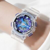 Ladies Sports Wristwatches Digital Movement Women Watch Jelly Jam Belt Buckle