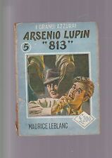 ARSENIO LUPIN 813  Leblanc GRANDI AZZURRI