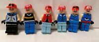 RARE Pokémon Trainers Lego mini figures bundle x 6