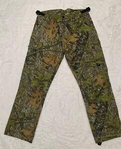 Mossy Oak Scent Blocker camo pants camouflage Size Large