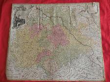 CARTE - Saxoniae superioris, praessertim electoralis circulus.