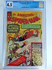 Amazing Spider-Man #14  CGC 4.5 1st Green Goblin  (NO RESERVE)