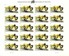US #4530 SHEET INDIANAPOLIS 500 FOREVER STAMP