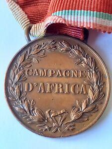 MEDAGLIA MILITARE CAMPAGNA D'AFRICA UMBERTO1 °
