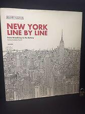NEW YORK LINE BY LINE - MATTEO PERICOLI ROBINSON (HARDCOVER) NEW