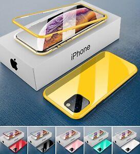 Magnet Hülle iPhone 11 / Pro / 11 Pro Max Rundum Handy Schutz Case Cover Bumper