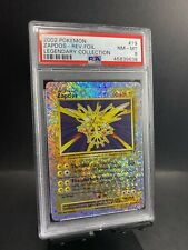 2002 Pokemon Legendary Collection #19 Zapdos-Reverse Foil PSA 8 NM-Mint