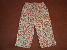 Flower Plus Size Capri, Cropped Trousers for Women