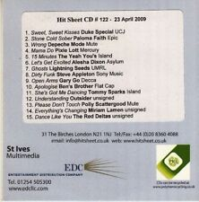VV.AA.*CD*COMPILATION*HIT SHEET NO.122*PROMO*DEPECHE MODE*WRONG*UK