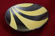 50´s Design Kidney Shaped  Fritz van Daalen pottery Schale  1706