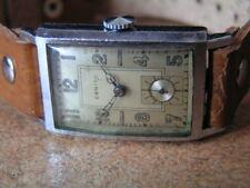 Vintage Rectangular Military ZENITH Gents Wrist Watch Orig. Cond. ca1939 - WW2
