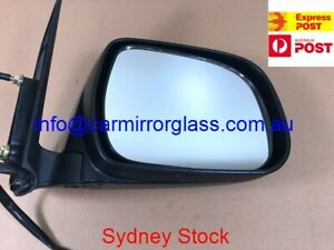 RIGHT DRIVER SIDE MIRROR FOR TOYOTA HILUX 2005 - 2010 (BLACK, ELECTRIC ADJUST)