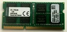KINGSTON 8GB DDR3 KTL-TP3CL/8G 1.35V BPMK16 LAPTOP RAM