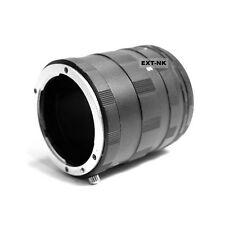 Tubes Extension Macro pour Monture Objectif Nikon DSLR SLR