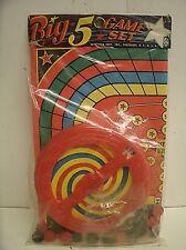 Vintage Hasbro Hassenfeld Dime store BIG 5 GAME SET #4037