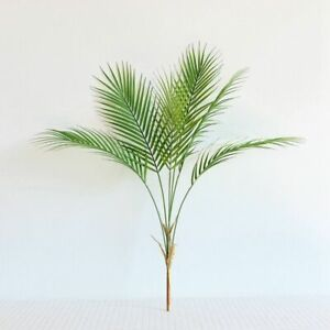 Artificial Palm Tropical Leaves Home Plant Decor Green Fake Plants Decoration