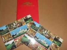 Stoke Park Club Buckinghamshire Hotel Flyer Booklet + Postcards Stoke Poges