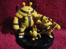 3 Pokemon-figure/Zukan:Elevoltek+Elektek+Elekid/gebraucht(Electivire/Electabuzz)