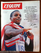 L'Equipe Magazine 14/8/1992; Carl Lewis/ Story of the Dream Team/ Scherbo