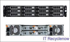 Dell MD1200 PowerVault 12xTray 2x EMM 2x PSU 1x Rail + PERC H810 RAID Controller