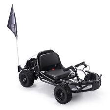 Go Cart Off Road Recoil Pull Start Gas Kids Scooter 2 Stroke Petrol EPA, Black