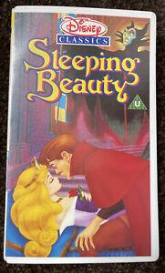 SLEEPING BEAUTY WALT DISNEY CLASSIC VHS UK VIDEO TAPE PAL