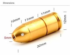 Laser Training Cartridge Ammo Bullet Shooting Dry Fire Practice 45ACP +EXTRA USA
