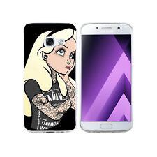 Coque Samsung Galaxy A 3 ( Modele 2017 ) - Motif Alice Tattoo - Envoi en Suivi