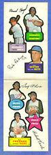 1968 Topps Action Sticker - TOM SEAVER / FREHAN / OLIVA  ** Not Die-Cut