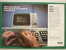 4/1979 PUB DIGITAL 32 BIT OEM COMPUTER DIGITAL VAX-11/870 ORDINATEUR ORIGINAL AD