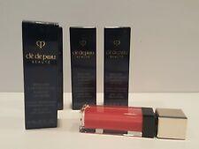 Clé de Peau Beauté- Lot of 4- Radiant Lip Gloss-5 Dream Stone- .25 oz-Nib