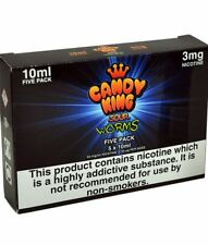Sour Worms 50ml Pack Candy King