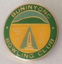Buninyong Bowling Club Badge Rare Vintage (L1)